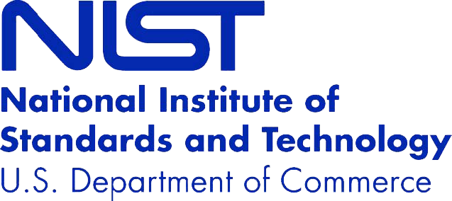 National Institute of Standards and Technology Certification logo US Department of Commerce